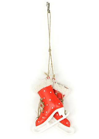 Brusle, kovová vánoční dekorace