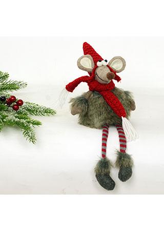 Myš,  textilní dekorace