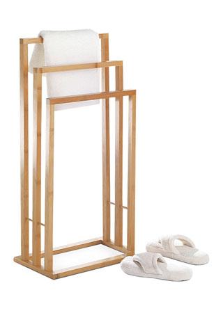 stojan na uteráky bambusový DR-039