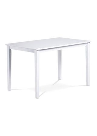 Jedálenský stôl 120x75 cm, biely GEPARD WT