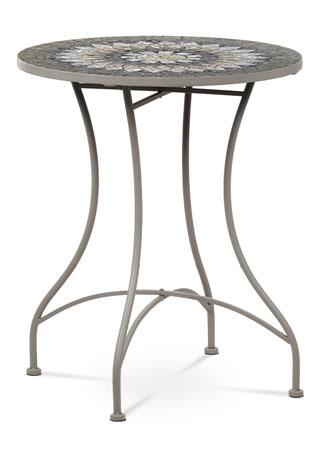 Stôl kovový s mozaikovou doskou JF2219