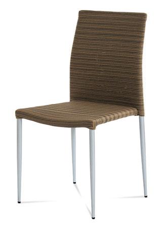 Stolička umelý ratan/stohovateľná SOF039